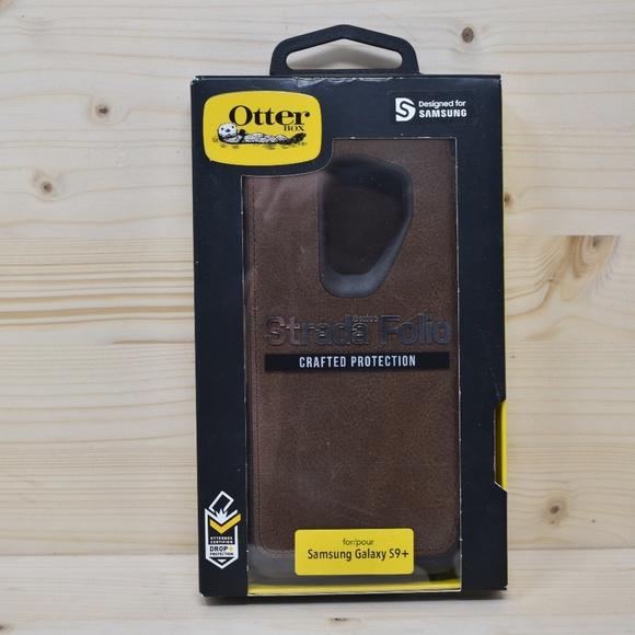 the latest 9c251 8534a Otterbox Strada Folio Samsung Galaxy S9+ Case Boutique